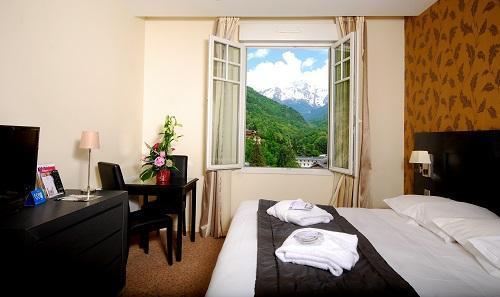 Urlaub in den Bergen Superior-Zimmer (2 personen) - Le Golf Hôtel - Brides Les Bains - Schlafzimmer