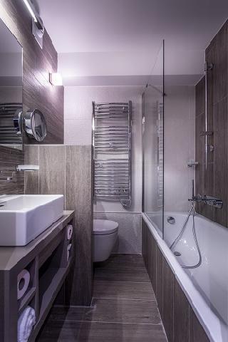 Urlaub in den Bergen Le Grand Aigle Hôtel et Spa - Serre Chevalier - Badezimmer