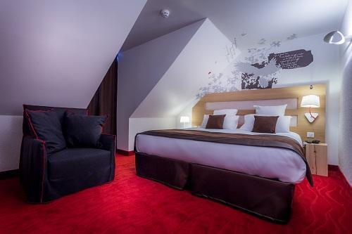 Urlaub in den Bergen Le Grand Aigle Hôtel et Spa - Serre Chevalier - Schlafzimmer