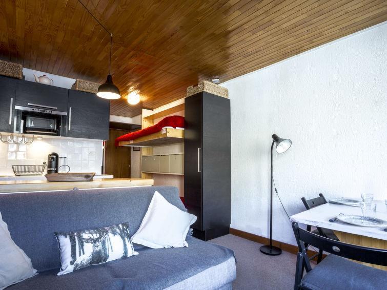 Vakantie in de bergen Appartement 1 kamers 3 personen (5) - Le Grand Pré - Tignes - Verblijf