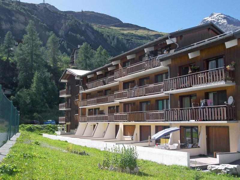 Holiday in mountain resort Studio sleeping corner 4 people (9) - Le Grand Ski - Tignes - Summer outside