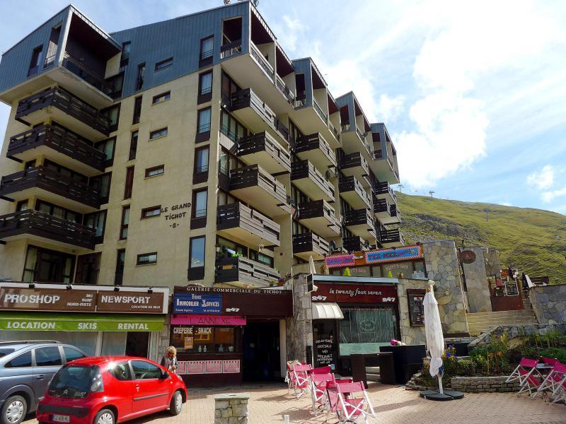 Vakantie in de bergen Appartement 2 kamers 6 personen (2) - Le Grand Tichot A et B - Tignes - Buiten zomer