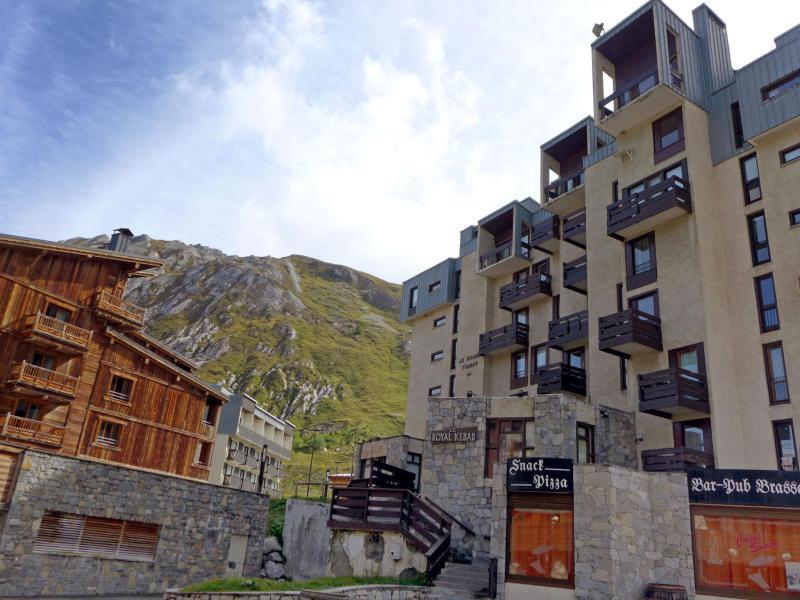 Location au ski Appartement 2 pièces 4 personnes (12) - Le Grand Tichot A et B - Tignes - Extérieur été