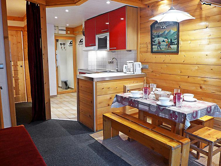 Holiday in mountain resort 1 room apartment 4 people (8) - Le Grand Tichot A et B - Tignes - Summer outside