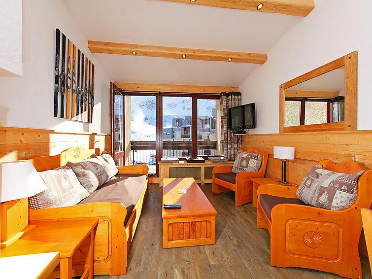 Holiday in mountain resort 5 room apartment 12 people (9) - Le Grand Tichot A et B - Tignes - Summer outside
