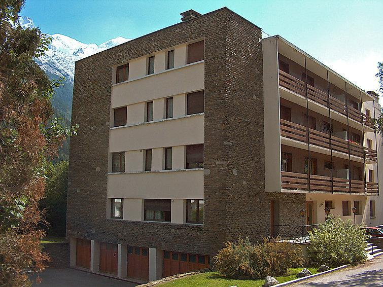 Holiday in mountain resort 2 room apartment 4 people (1) - Le Grand Triolet - Chamonix - Summer outside