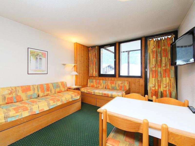 Vakantie in de bergen Appartement 1 kamers 4 personen (1) - Le Grépon - Chamonix