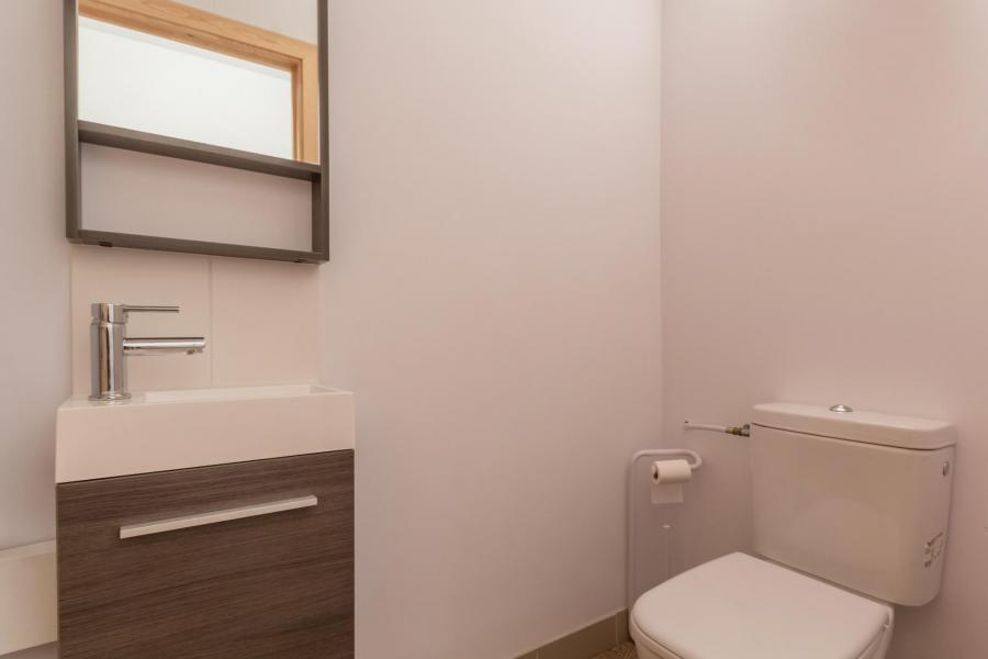 Holiday in mountain resort 3 room apartment 6 people (CHE2) - Le Hameau Crête Côte - La Plagne - WC