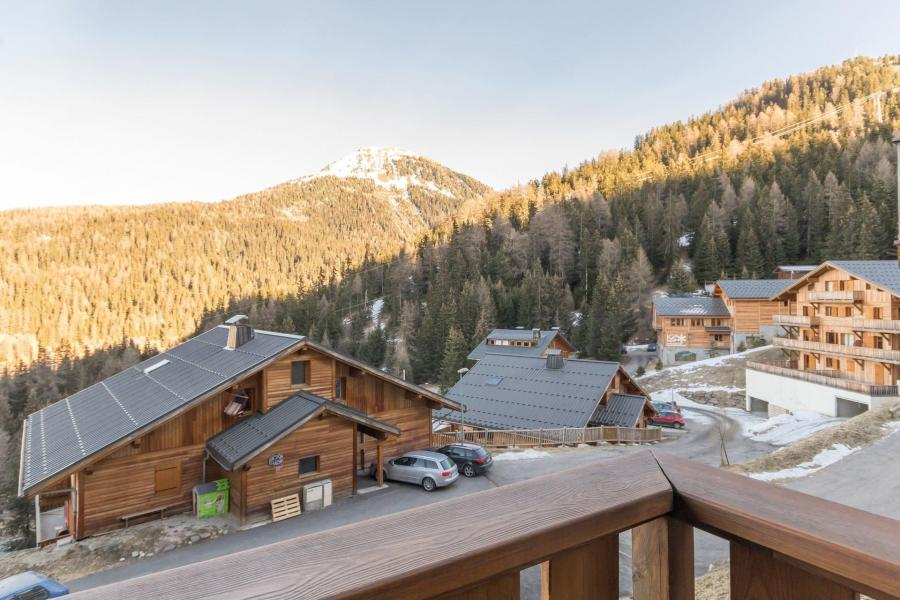 Holiday in mountain resort 3 room apartment 6 people (CHE2) - Le Hameau Crête Côte - La Plagne - Summer outside
