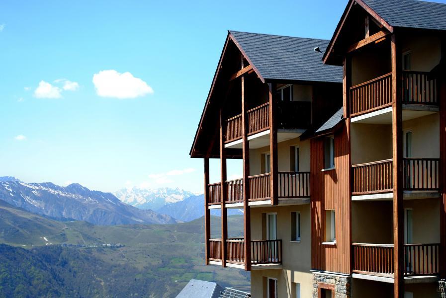 Vacances en montagne Le Hameau de Balestas - Peyragudes - Extérieur été