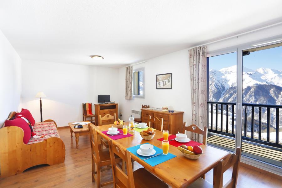 Urlaub in den Bergen Le Hameau de Balestas - Peyragudes - Esszimmer