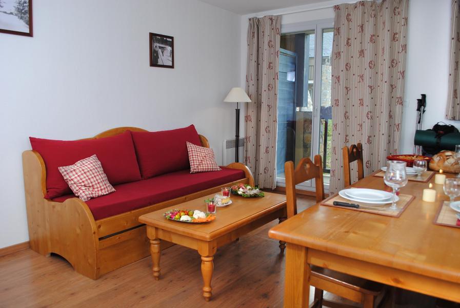 Urlaub in den Bergen Le Hameau de Balestas - Peyragudes - Wohnzimmer