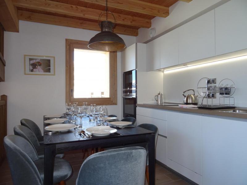Каникулы в горах Шале триплекс 5 комнат 8 чел. (Pomme de Pin) - Le Hameau de Caseblanche - Saint Martin de Belleville - Кухня