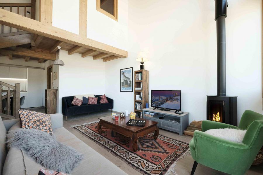 Каникулы в горах Шале триплекс 5 комнат 8 чел. (Pomme de Pin) - Le Hameau de Caseblanche - Saint Martin de Belleville - Салон