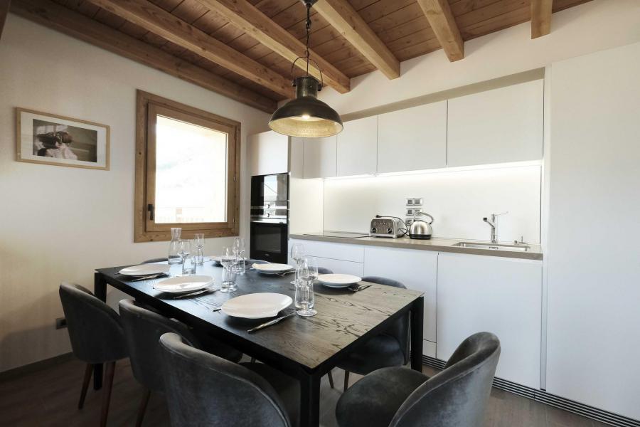 Каникулы в горах Шале триплекс 5 комнат 8 чел. (Pomme de Pin) - Le Hameau de Caseblanche - Saint Martin de Belleville - Стол