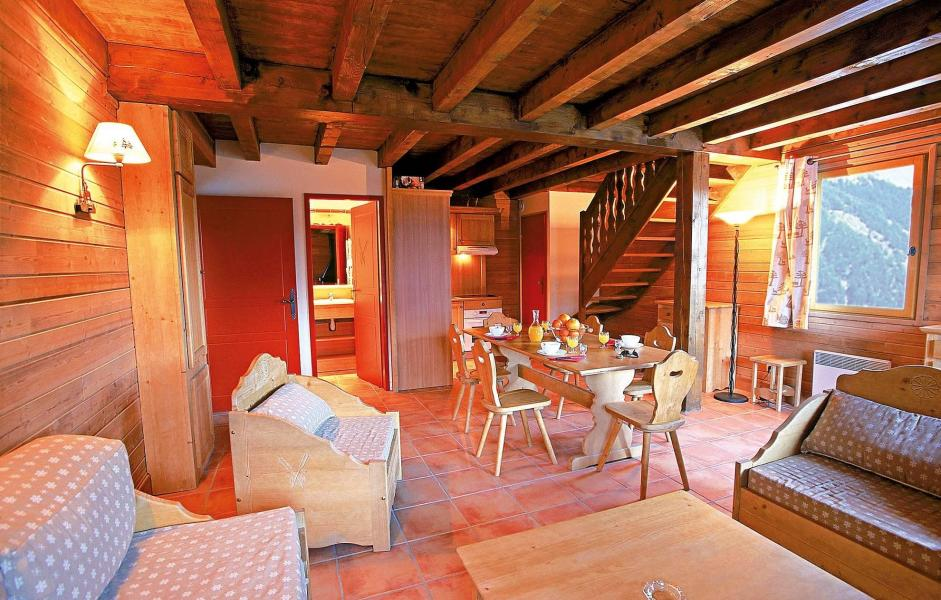 Vakantie in de bergen Le Hameau de Praroustan - Pra Loup - Eethoek
