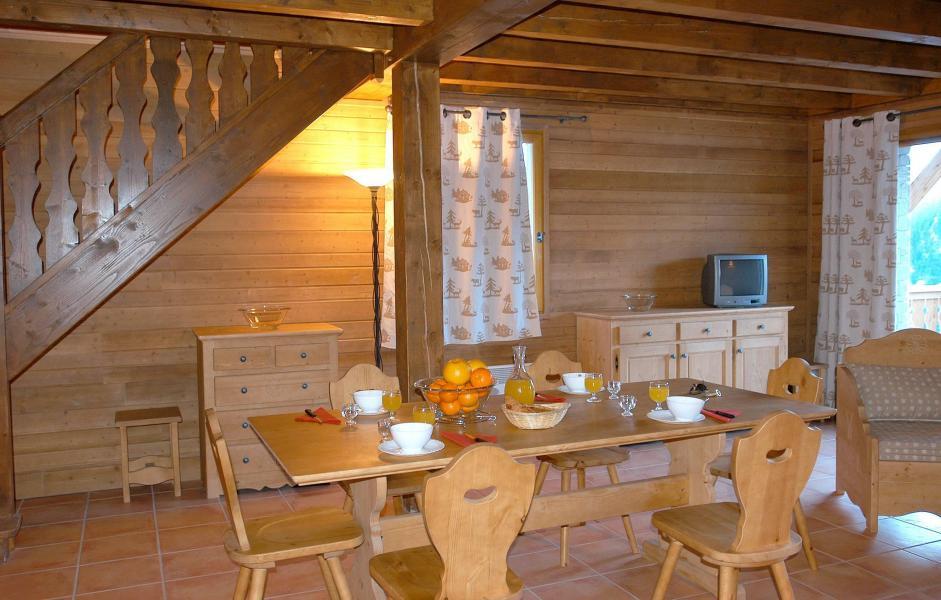 Vakantie in de bergen Le Hameau de Praroustan - Pra Loup - Stoel