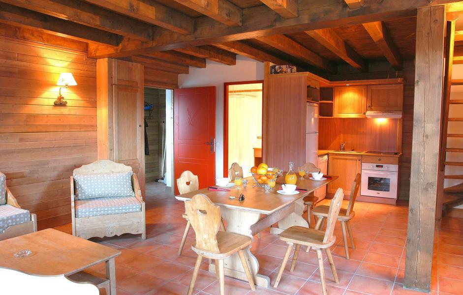 Vakantie in de bergen Le Hameau de Praroustan - Pra Loup - Tafel