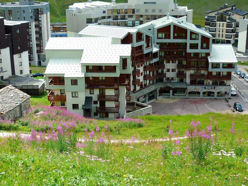 Location au ski Studio cabine 4 personnes (3018) - Le Hameau du Borsat - Tignes - Extérieur été