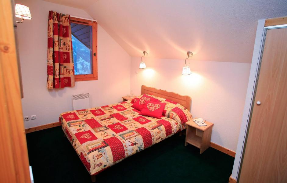 Urlaub in den Bergen Le Hameau et les Chalets de la Vallée d'Or - Valloire - Schlafzimmer
