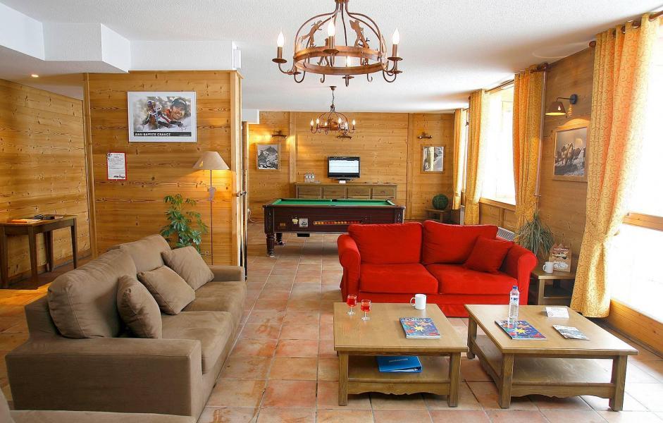 Vakantie in de bergen Le Hameau et les Chalets de la Vallée d'Or - Valloire - Woonkamer