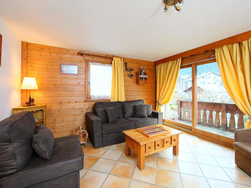 Holiday in mountain resort 3 room apartment 4 people (1) - Le Krystor - Chamonix - Accommodation