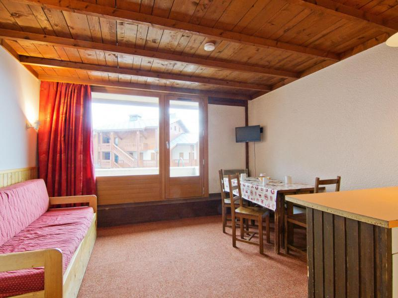 Holiday in mountain resort 1 room apartment 4 people (1) - Le Lac Blanc - Val Thorens - Summer outside