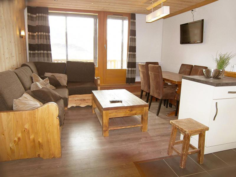 Holiday in mountain resort 3 room apartment 8 people (3) - Le Lac Blanc - Val Thorens - Summer outside