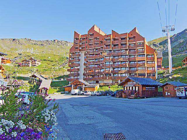 Holiday in mountain resort 2 room apartment 6 people (2) - Le Lac du Lou - Val Thorens - Summer outside