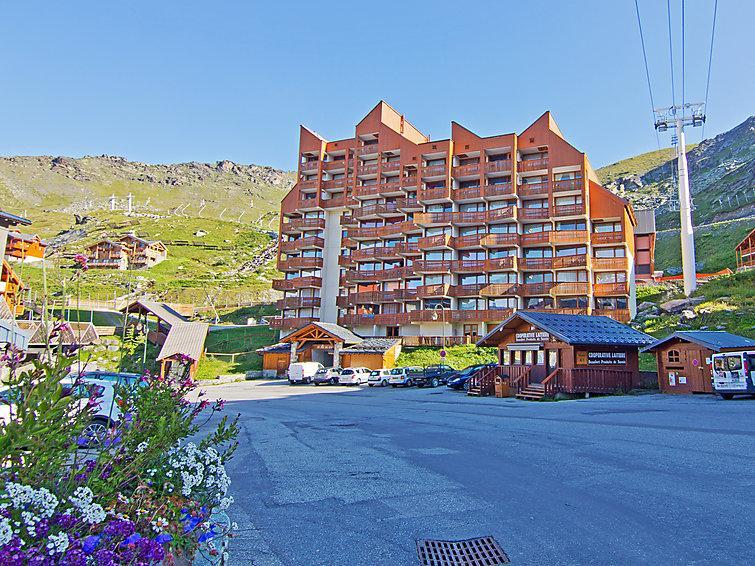 Holiday in mountain resort Le Lac du Lou - Val Thorens - Summer outside