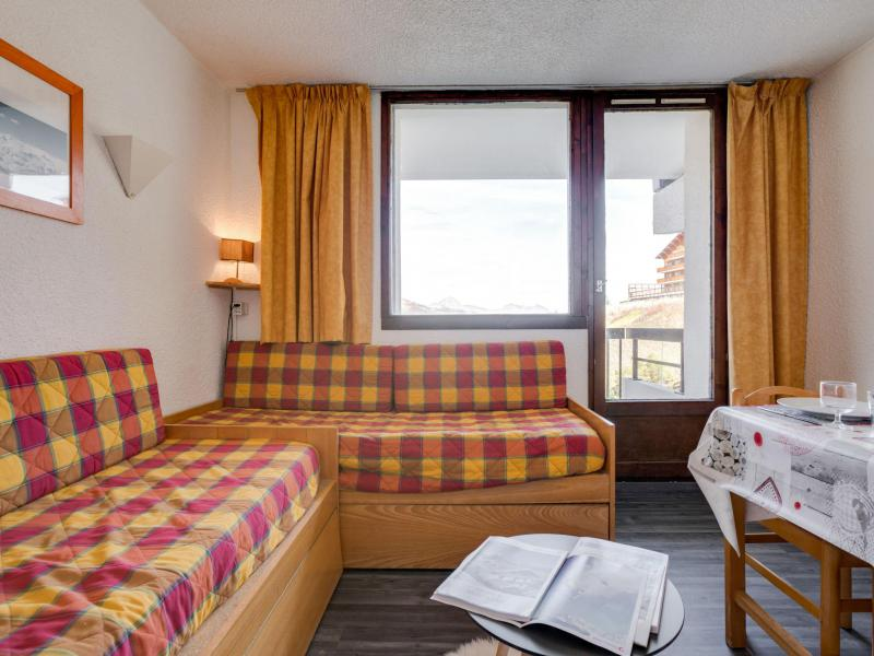 Holiday in mountain resort 1 room apartment 4 people (4) - Le Médian - Les Menuires - Accommodation