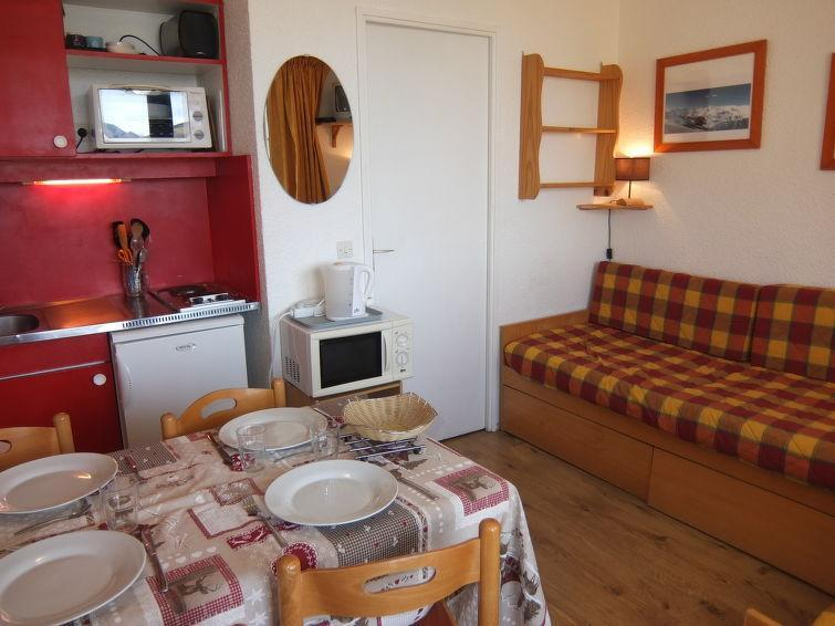 Holiday in mountain resort 1 room apartment 4 people (4) - Le Médian - Les Menuires - Summer outside