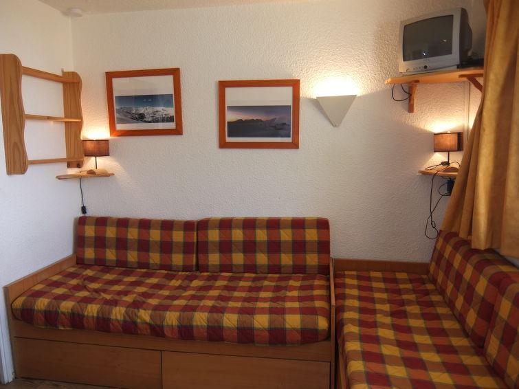 Vakantie in de bergen Appartement 1 kamers 4 personen (4) - Le Médian - Les Menuires - Verblijf