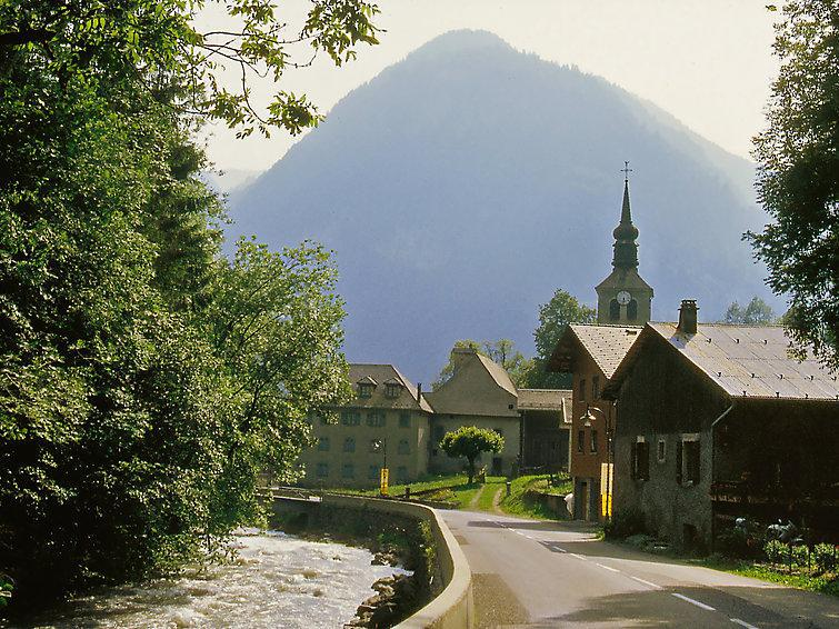 Holiday in mountain resort 4 room chalet 6 people (1) - Le Penoutlay - Samoëns - Summer outside