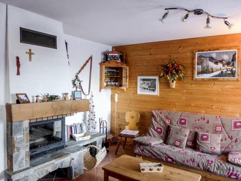 Wakacje w górach Apartament 3 pokojowy 5 osób (1) - Le Plan des Reines - Chamonix - Pokój gościnny