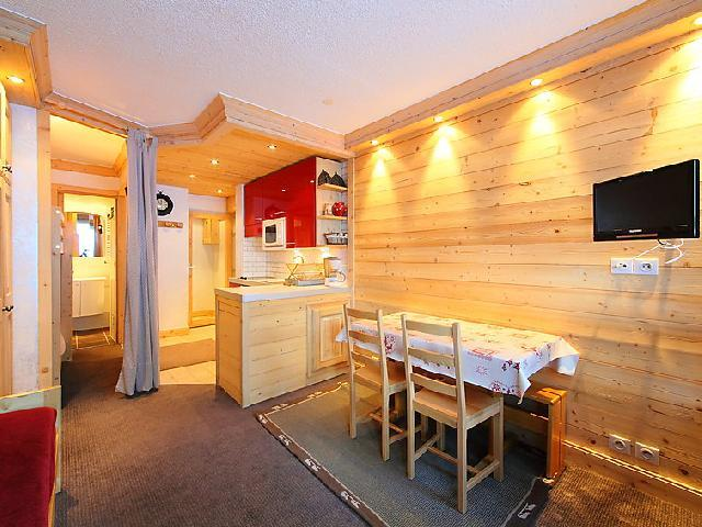 Holiday in mountain resort 1 room apartment 4 people (5) - Le Pramecou - Tignes - Accommodation