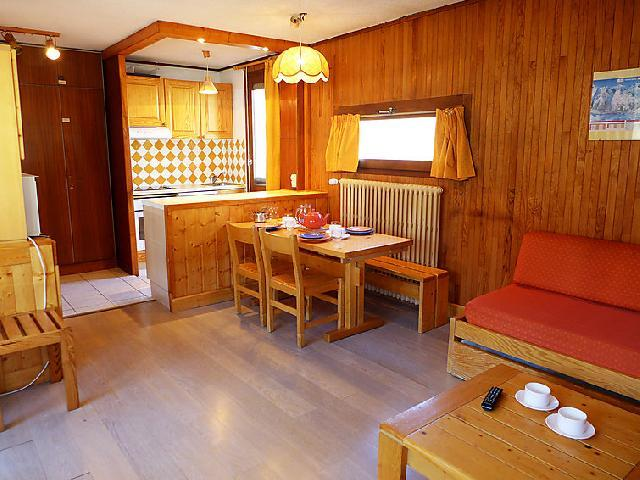 Holiday in mountain resort 2 room apartment 6 people (3) - Le Pramecou - Tignes - Accommodation