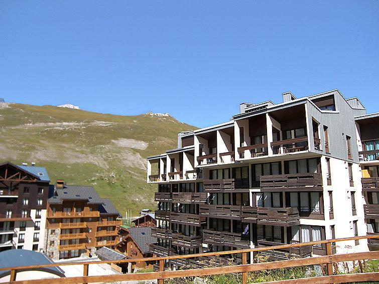 Holiday in mountain resort Le Pramecou - Tignes - Summer outside