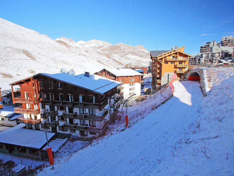 Location au ski Appartement 3 pièces 7 personnes (11) - Le Pramecou - Tignes - Extérieur été