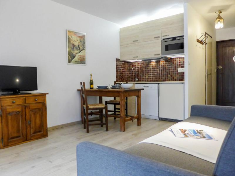 Vakantie in de bergen Appartement 1 kamers 2 personen (2) - Le Pramouny - Chamonix - Keukenblok