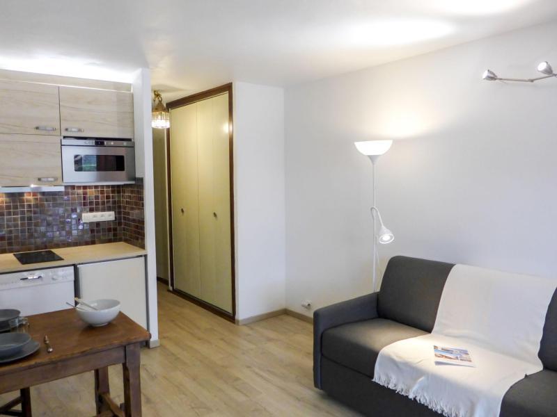 Vakantie in de bergen Appartement 1 kamers 2 personen (2) - Le Pramouny - Chamonix - Woonkamer