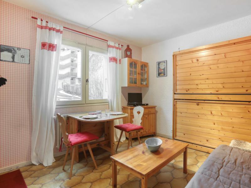 Urlaub in den Bergen 1-Zimmer-Appartment für 3 Personen (1) - Le Prarion - Saint Gervais