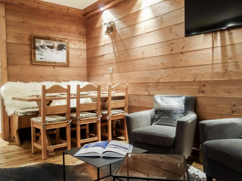 Holiday in mountain resort 3 room apartment 6 people (10) - Le Prariond - Tignes - Living room