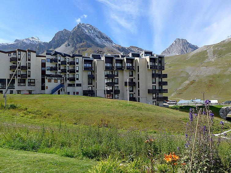 Holiday in mountain resort Le Prariond - Tignes - Summer outside