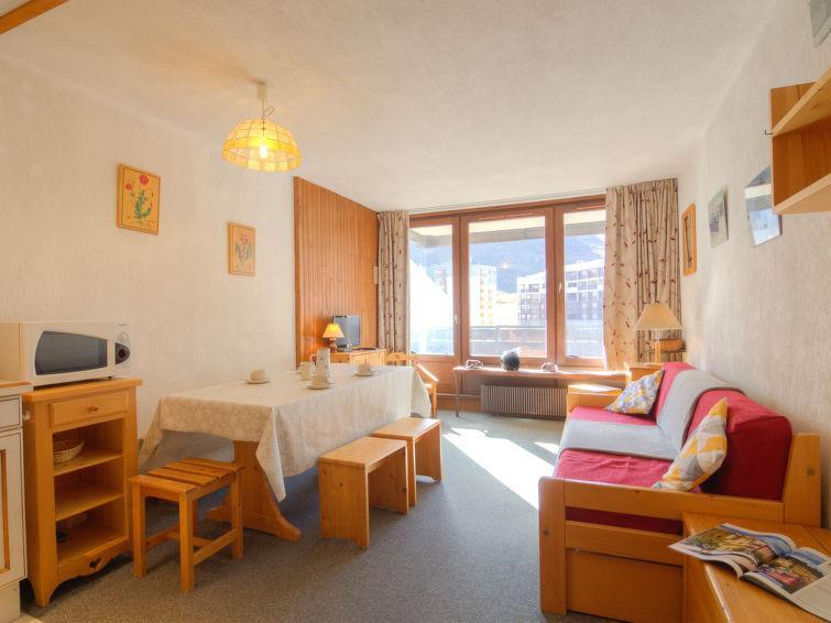 Holiday in mountain resort 1 room apartment 4 people (4) - Le Prariond - Tignes - Summer outside