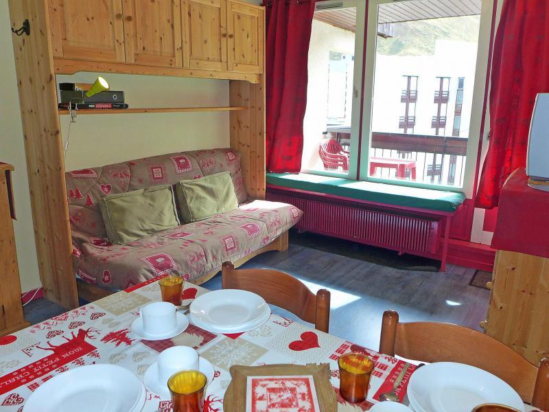 Vakantie in de bergen Appartement 1 kamers 4 personen (6) - Le Prariond - Tignes