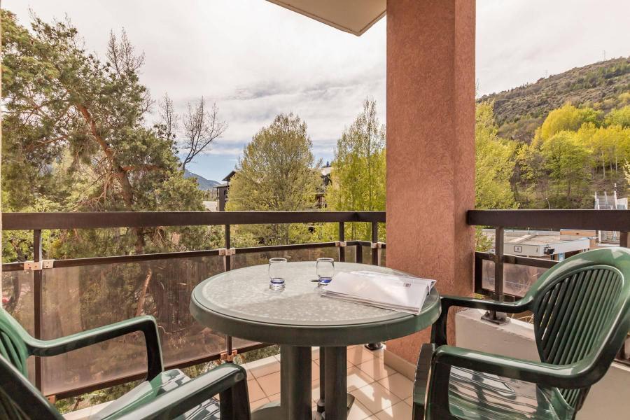 Vacances en montagne Appartement 2 pièces coin montagne 4 personnes (A301) - Le Relais de la Guisane A - Serre Chevalier - Balcon
