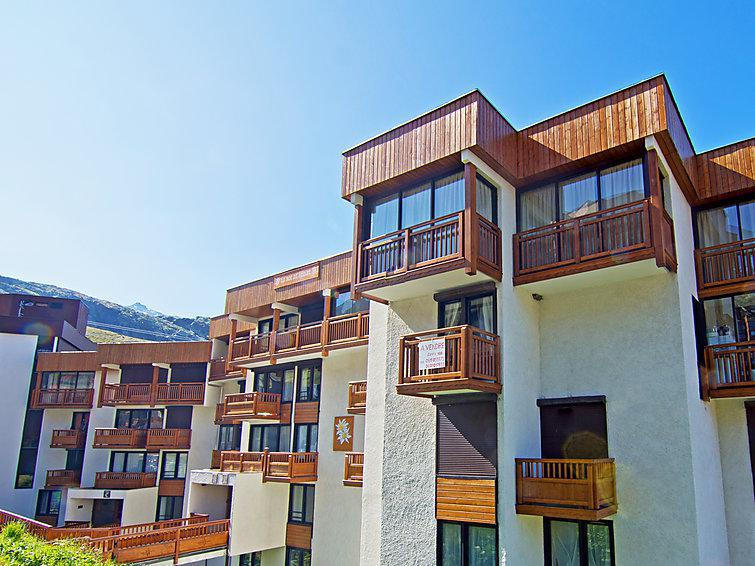 Holiday in mountain resort 3 room apartment 7 people (1) - Le Roc de Peclet - Val Thorens - Summer outside