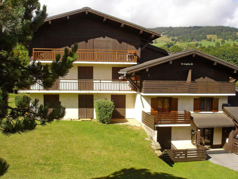 Holiday in mountain resort 1 room apartment 2 people (1) - Le Sapin - Megève - Summer outside