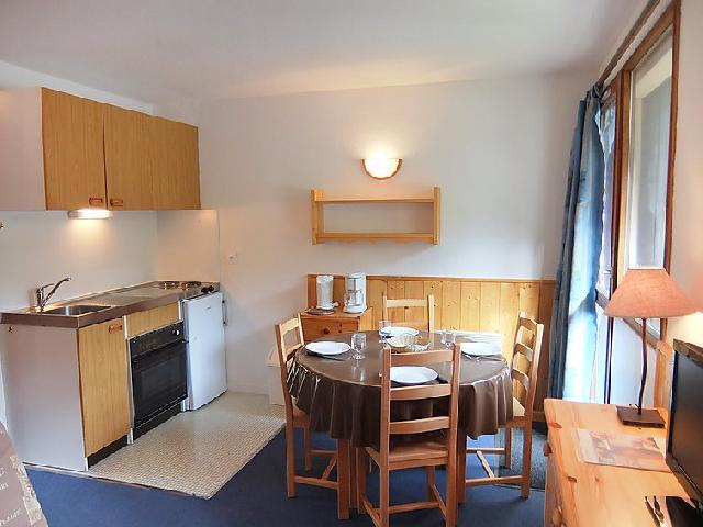 Holiday in mountain resort 1 room apartment 4 people (9) - Le Sarvan - Les Menuires - Accommodation